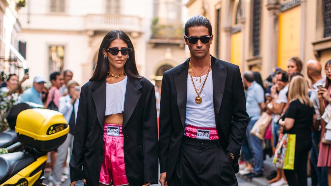 Tendenza street style dalla Milano Fashion week uomo 2019