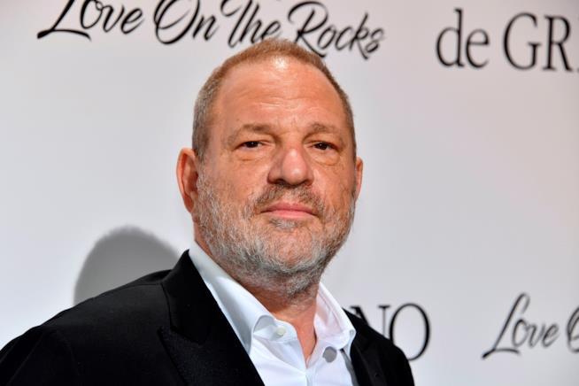 Harvey Weinstein durante una delle sue ultime apparizioni pubbliche