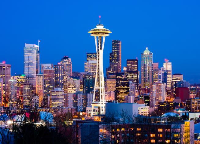 Panorama della città di Seattle
