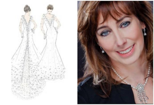 L'abito da sposa progettato da Sassi Holford