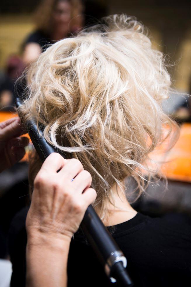 Mechès su capelli biondi