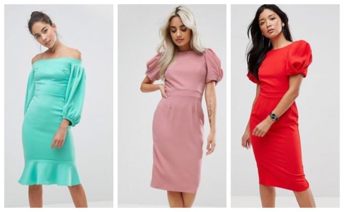 Maniche a sbuffo per i vestiti moda estate 2018
