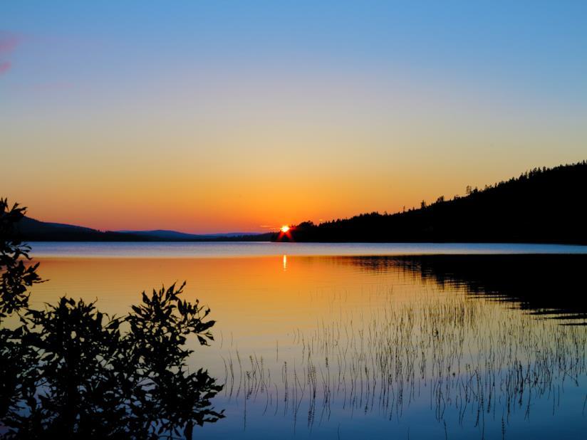 I mesi senza notte della Lapponia svedese