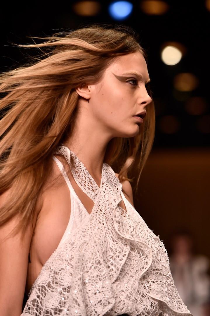 La modella Cara Delevingne