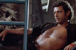 Il dottor Ian Malcolm in Jurassic Park