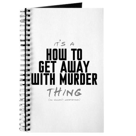 La copertina del quaderno de Le regole del delitto perfetto
