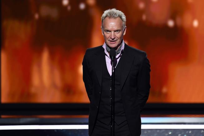 Il cantante Sting