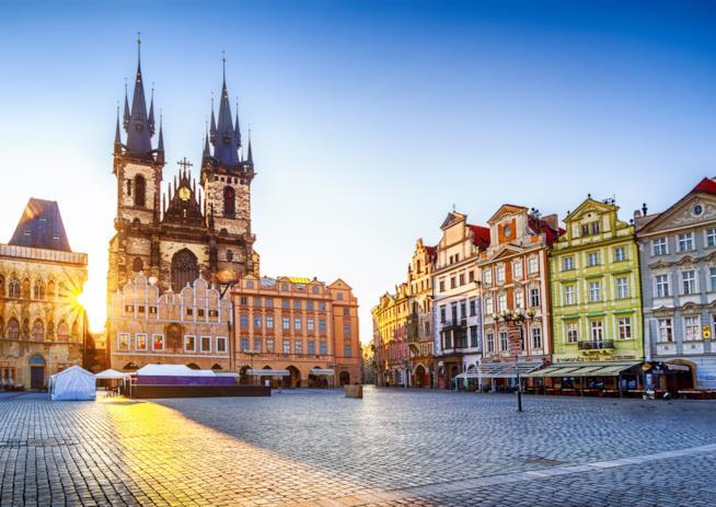Nella Città Vecchia di Praga
