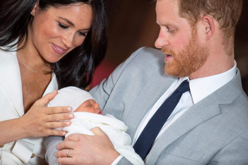 Meghan Markle, il Principe Harry e Archie