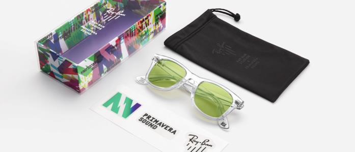 Gli occhiali di Ray-Ban X Primavera Sound