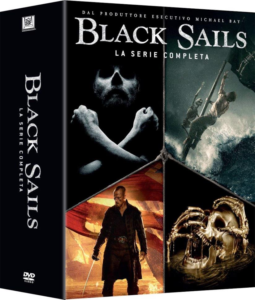 Cover del cofanetto dvd si Black Sails