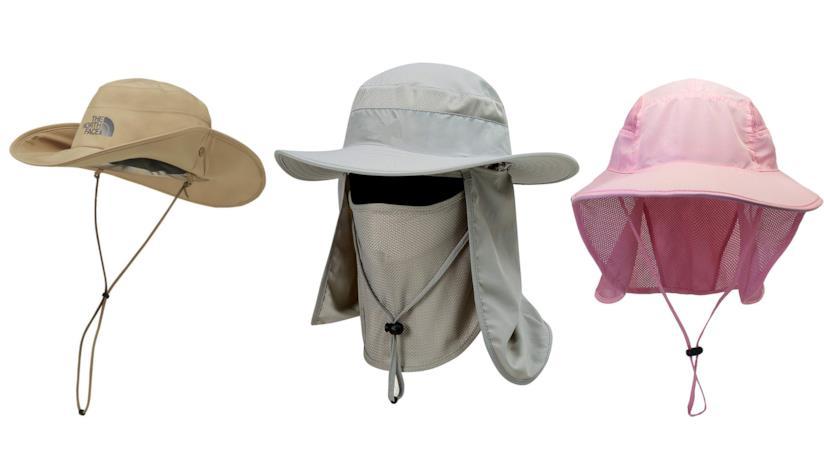 materiali superiori carino e colorato 2019 professionista Cappello da sole per escursionismo