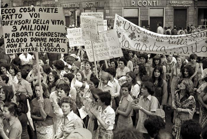 Manifestazione pro-aborto