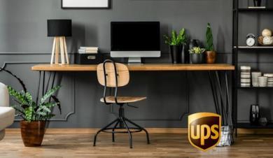Scrivania, Computer Desk in legno da ufficio