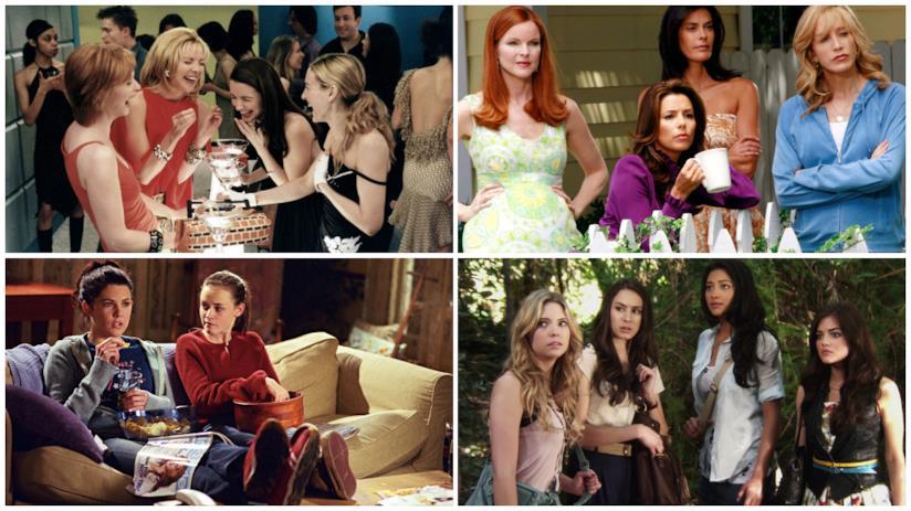 Cast di Sex and the City, Desperate Housewives, Una Mamma per Amica e Pretty Little Liars