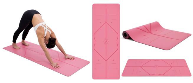 Sistema di allineamento dei tappetini da yoga