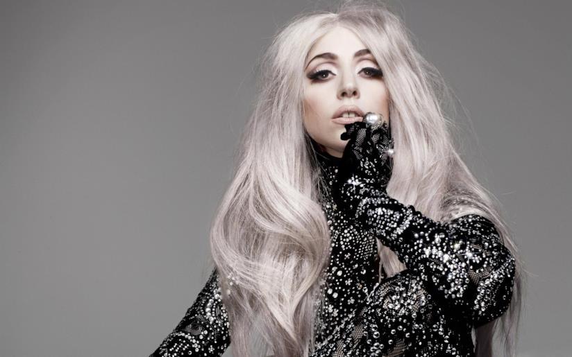 La pop star Lady Gaga