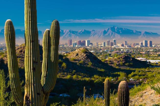 Città di Phoenix in Arizona