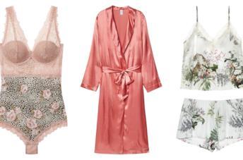 Modella indossa la Nuova Collezione Intimissimi Spring Summer 2019