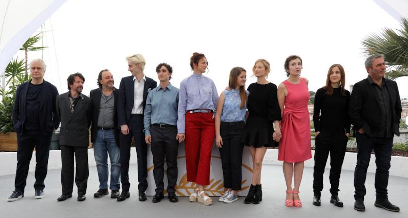 Lazzaro felice, il cast al photocall di Cannes 71