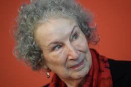 La scrittrice Margaret Atwood