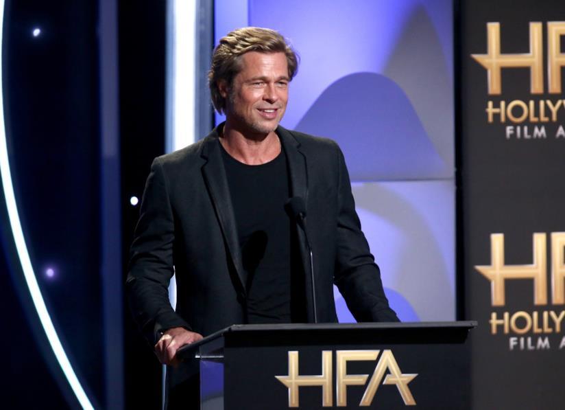Brad Pitt durante un evento a Hollywood