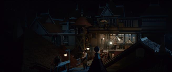 La residenza Winchester nel film La vedova Winchester