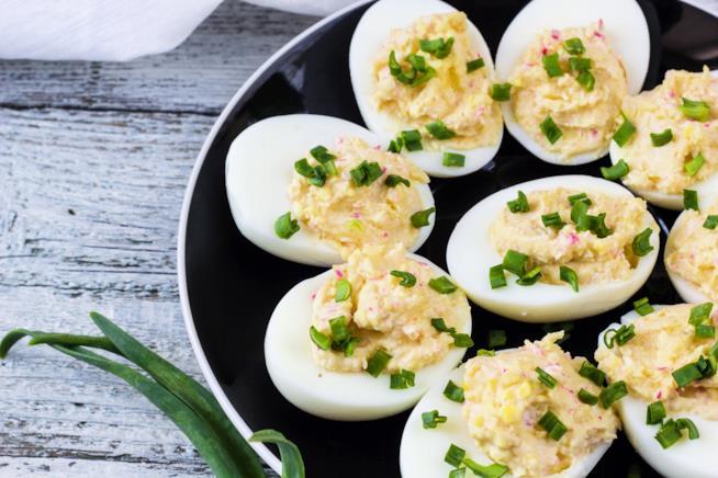 Uova sode al formaggio: antipasto di Pasqua