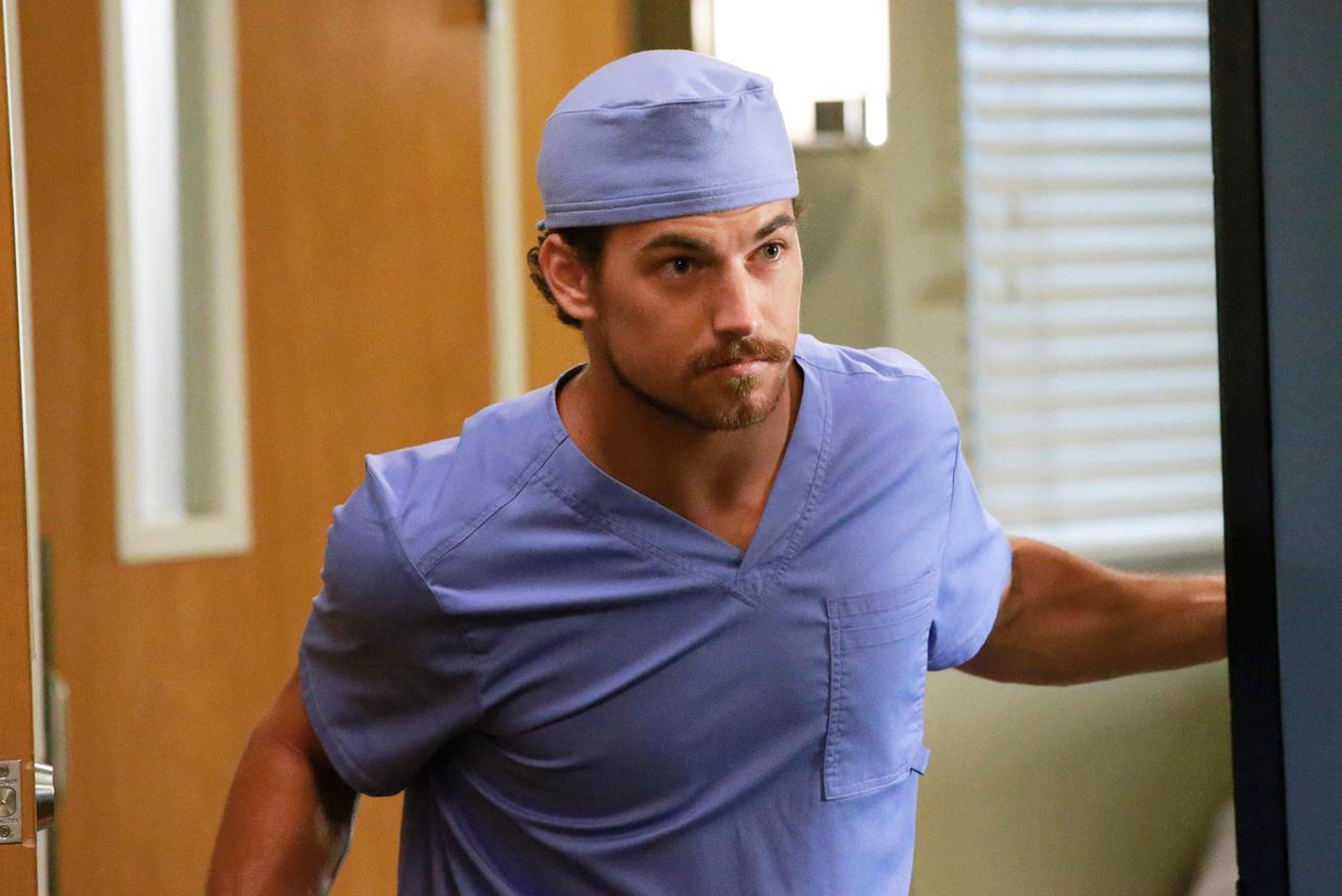 Giacomo Gianniotti in Grey's Anatomy