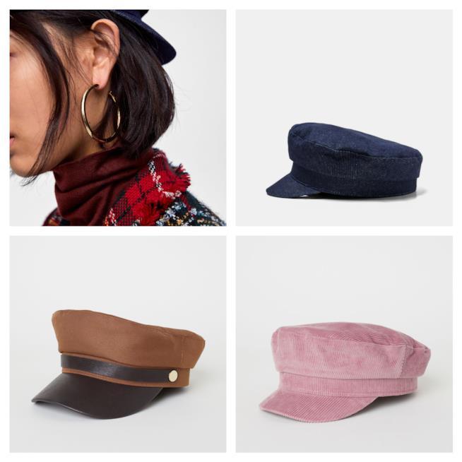 Da marianio, i cappelli di moda per l'A/ 2018-19