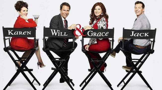 I protagonisti di Will & Grace in un'immagine promozionale
