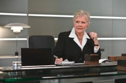 Judi Dench in un'immagine dal film Quantum of Solace