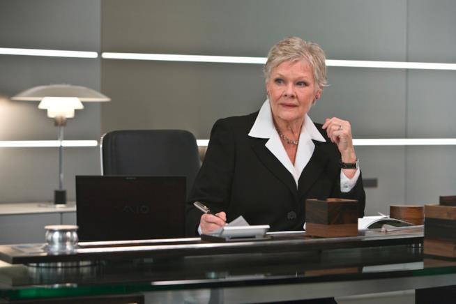 Judi Dench in un'immagine dal film Quantum of Solace