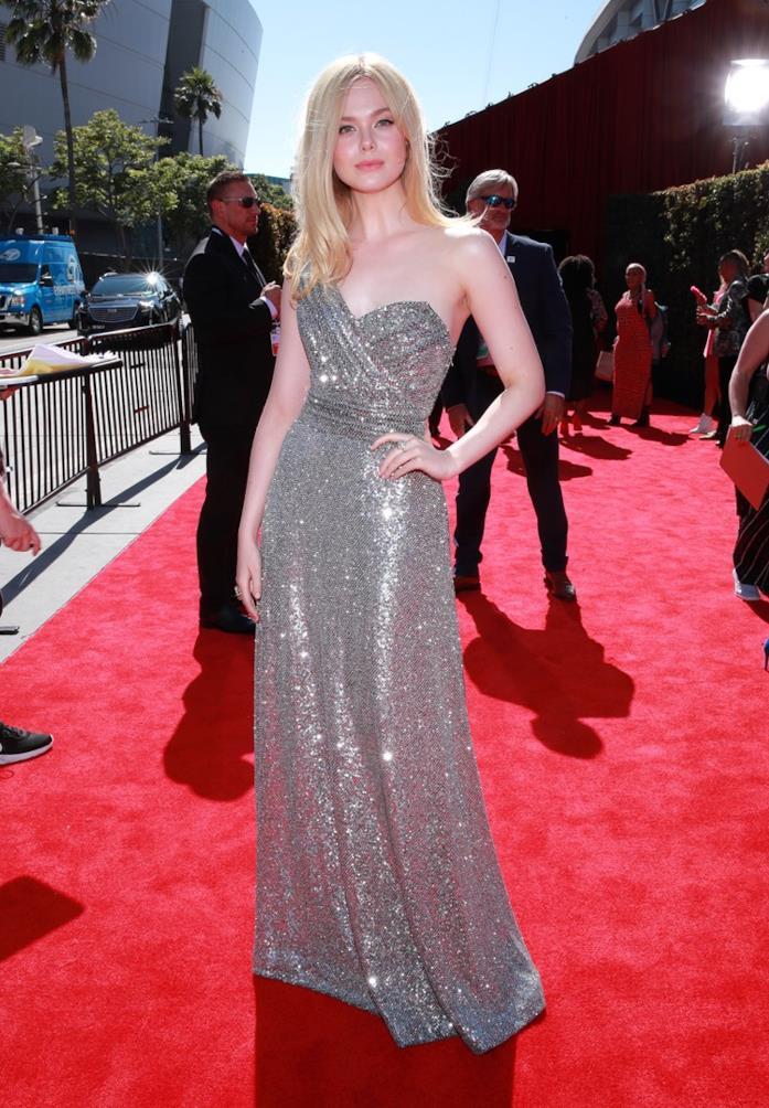 Elle Fanning sul red carpet degli ESPY