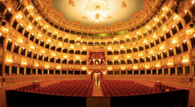 L'interno del Teatro Regio
