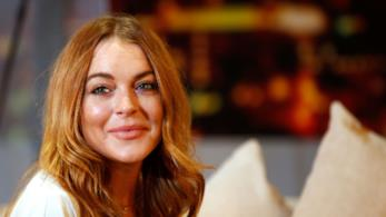 Primo piano di Lindsay Lohan
