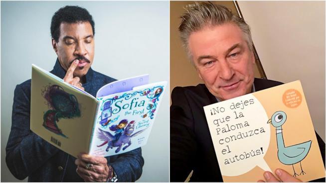 Lionel Richie e Alec Baldwin per Disney Magic of Storytelling
