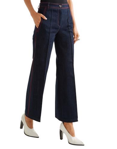 Jeans a zampa lavaggio scuro