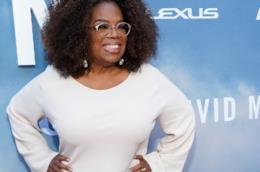 La presentatrice Oprah Winfrey