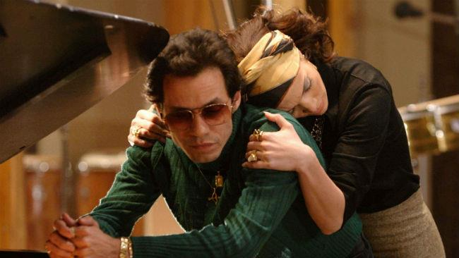 Jennifer Lopez e Marc Anthony nel film El Cantante
