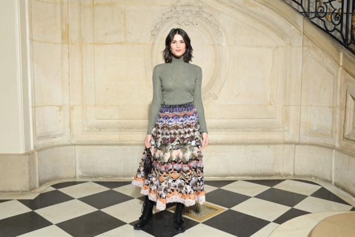 Gemma Arterton alla sfilata Christian Dior