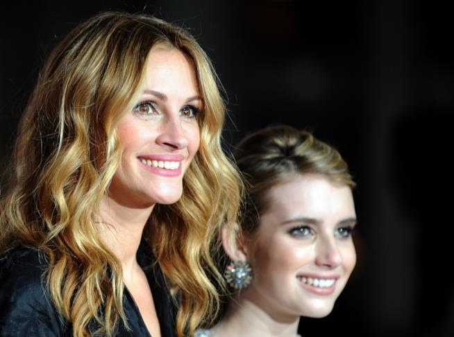 Julia Roberts ed Emma Roberts