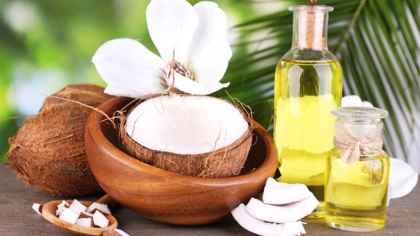 Olio e noce di cocco