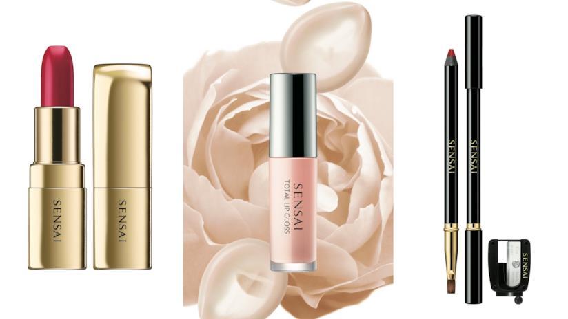 I nuovi lanci make-up labbra di Sensai