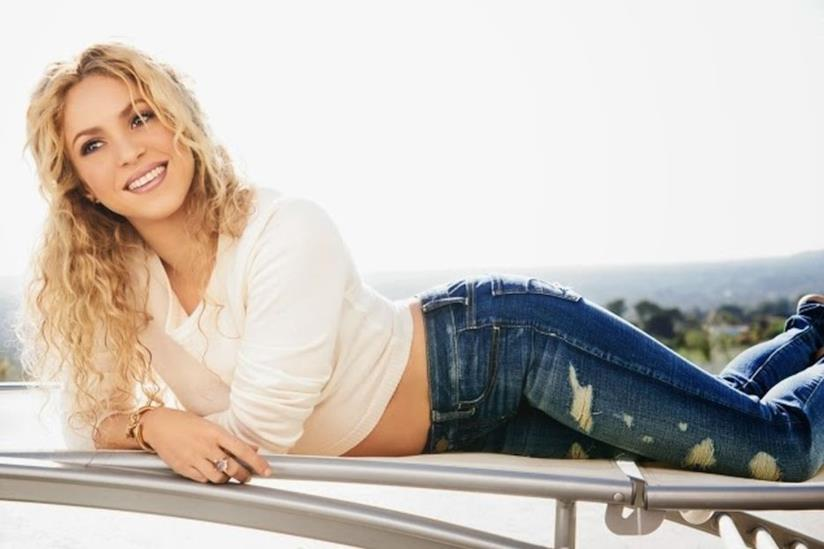 Shakira in un momento di relax