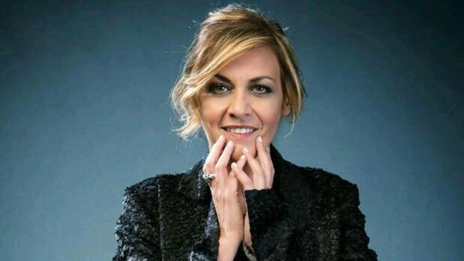 La cantante Irene Grandi