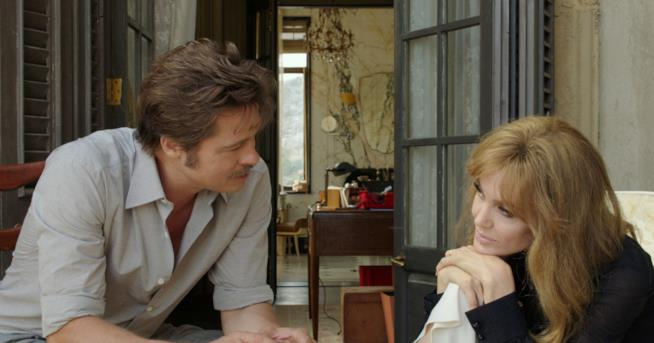 Angelina Jolie e Brad Pitt in By The Sea