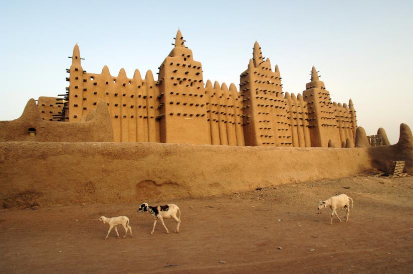 Una moschea del Mali