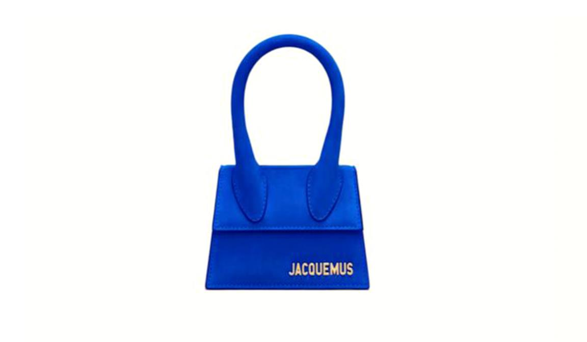 Borsa blu di Jacquemus