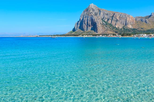 Il mare di San Vito lo Capo.
